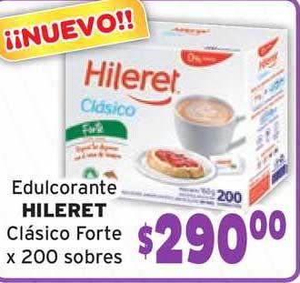 Único Supermercados Edulcorante Hileret Clásico Forte