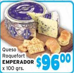 Único Supermercados Queso Roquefort Emperador X 100 Grs.