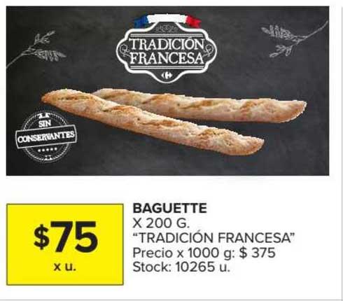 Carrefour Market Baguette