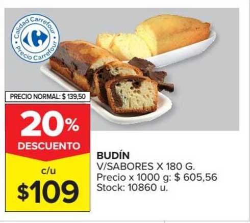 Carrefour Market Budín V-Sabores
