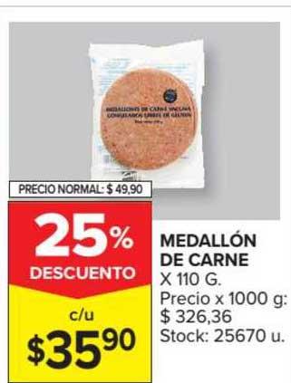 Carrefour Market Medallón De Carne
