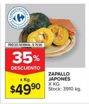 Carrefour Market Zapallo Japonés