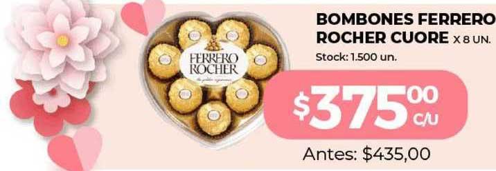 Super Mami Bombones Ferrero Rocher Cuore