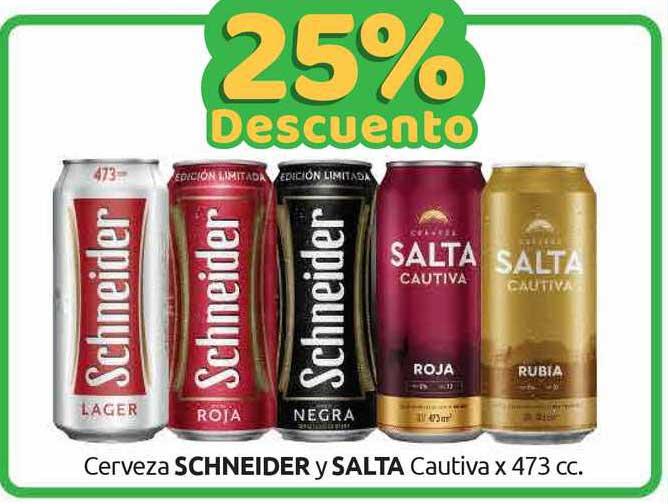 Cordiez Cerveza Schneider Y Salta Cautiva