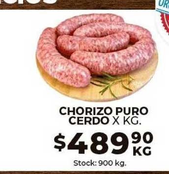 Super Mami Chorizo Puro Cerdo