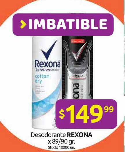 Cordiez Desodorante Rexona