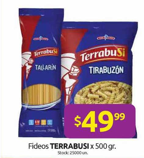 Cordiez Fideos Terrabusi