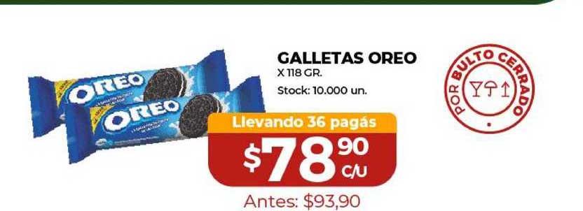 Super Mami Galletas Oreo