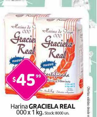 Cordiez Harina Graciela Real