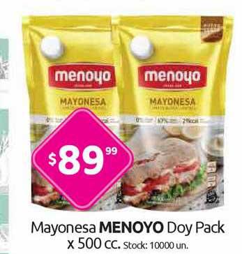 Cordiez Mayonesa Menoyo Doy Pack