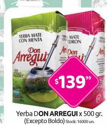 Cordiez Yerba Don Arregui
