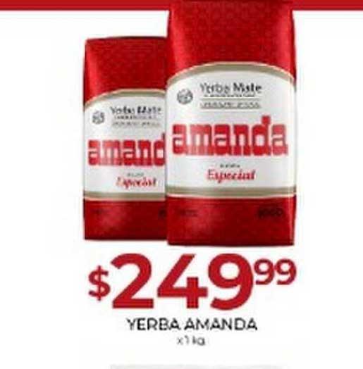 Supermercados Tadicor Yerba Amanda X 1kg