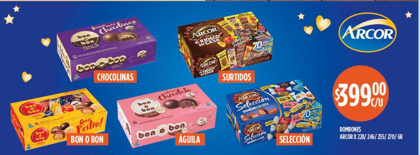 Supermercados Toledo Bombones Arcor