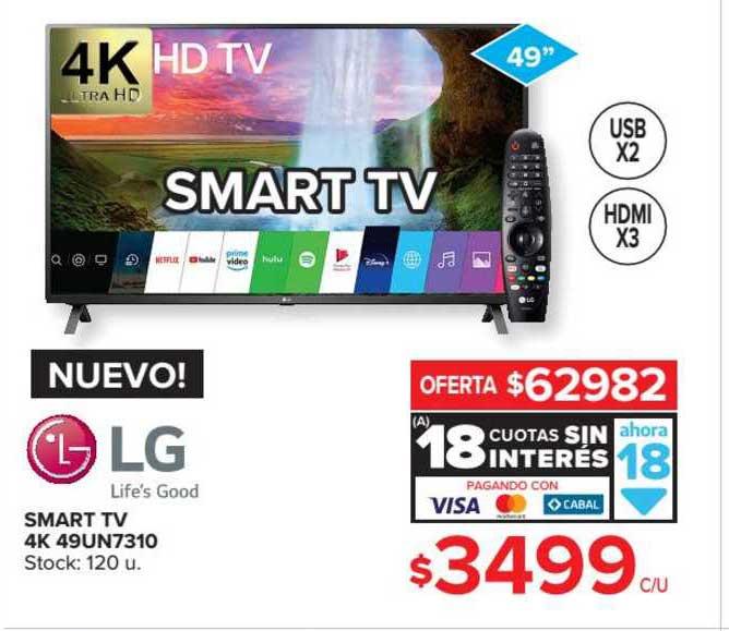 Carrefour Maxi LG Smart TV 4K 49UN7310