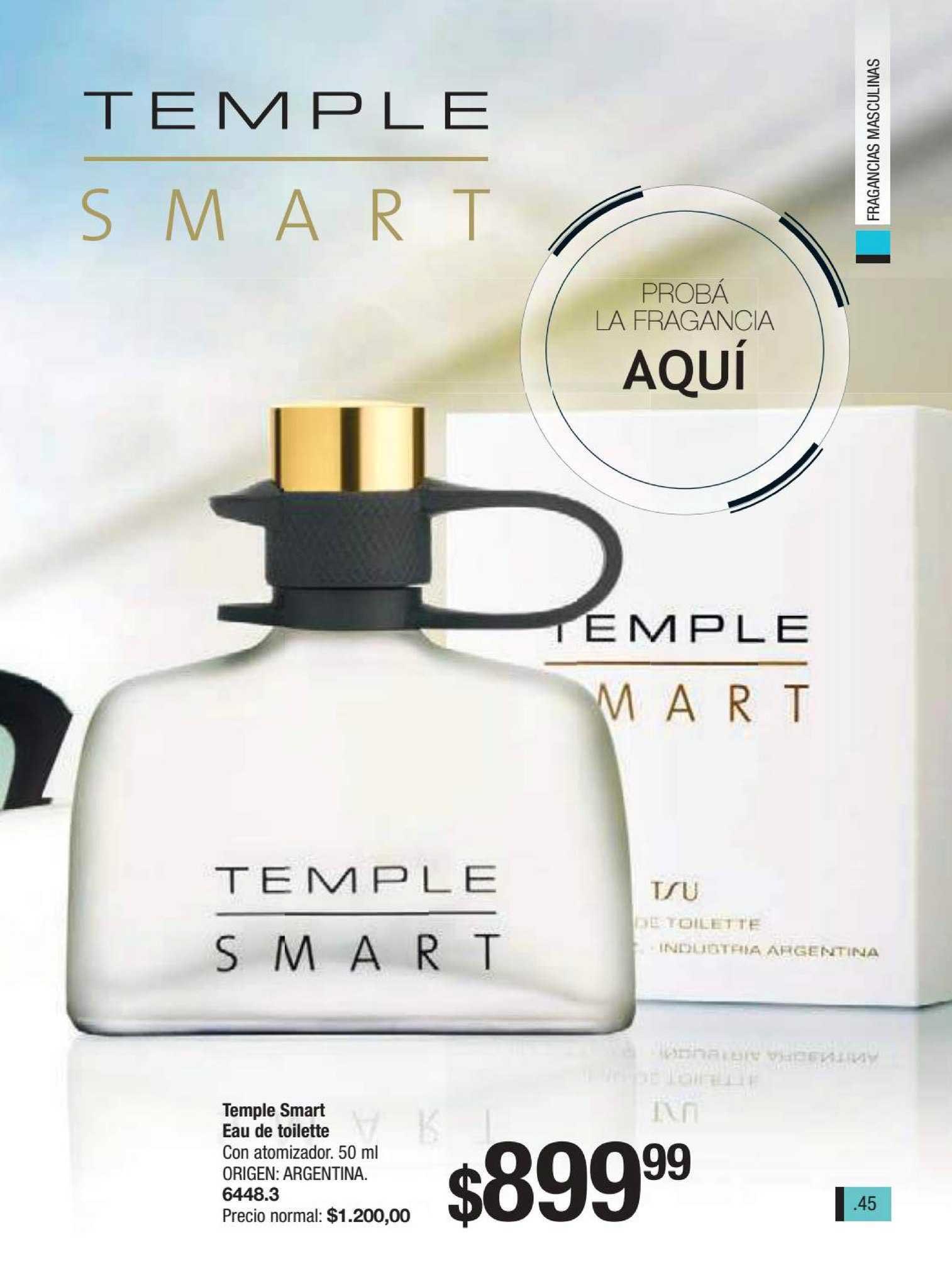 Tsu Cosmeticos Temple Smart Eau De Toilette