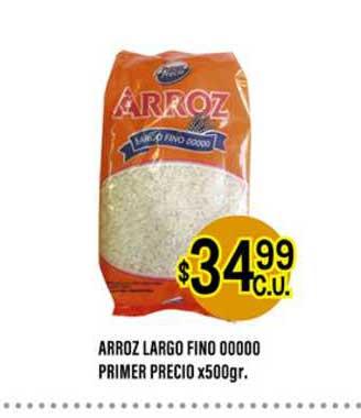 Supermercados Toledo Arroz Largo Fino Oooo Primer Precio