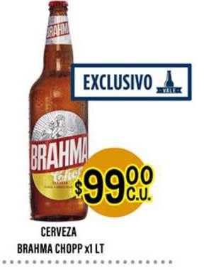 Supermercados Toledo Cerveza Brahma Chopp