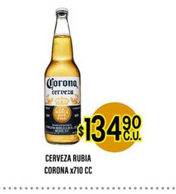 Supermercados Toledo Cerveza Rubia Corona