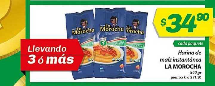Almacor Harina De Maiz Instantänea La Morocha 500 Gr
