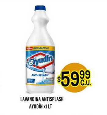 Supermercados Toledo Lavandina Antisplash Ayudín