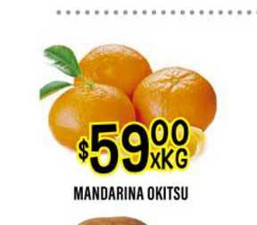 Supermercados Toledo Mandarina Okitsu