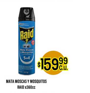 Supermercados Toledo Mata Moscas Y Mosquitos Raid