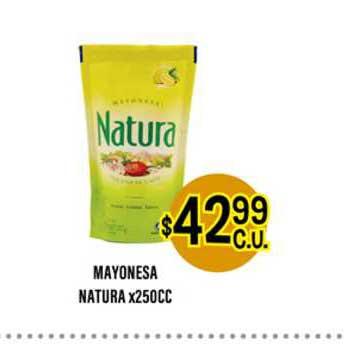 Supermercados Toledo Mayonesa Natura