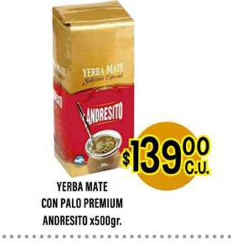 Supermercados Toledo Yerba Mate Con Palo Premium Andresito