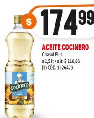 MAKRO Aceite Cocinero Girasol Plus