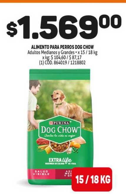MAKRO Alimento Para Perros Dog Chow