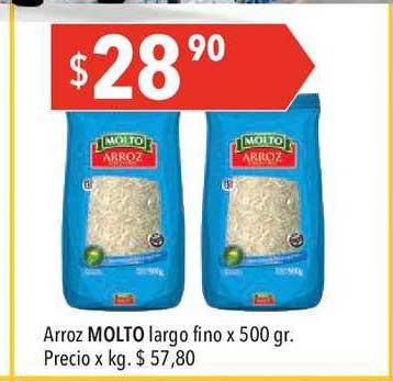 Hergo Arroz MOLTO Largo Fino X 500 Gr.