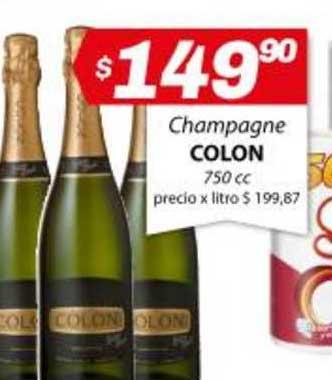 Almacor Champagne Colon 750 Cc