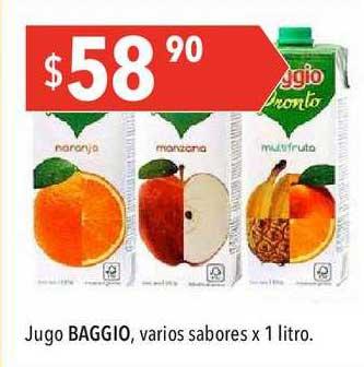 Hergo Jugo BAGGIO, Varios Sabores X 1 Litro