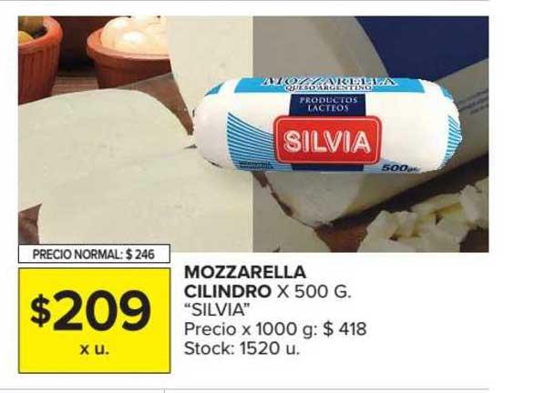 Carrefour Market Mozzarella Cilindro X 500 G.