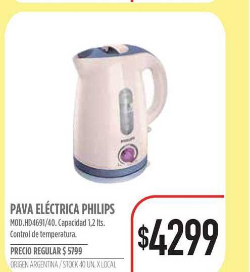 Supermercados Vea Pava Eléctrica Philips