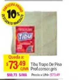 Medamax Tibu Trapo De Piso Prof. Consor.Gris
