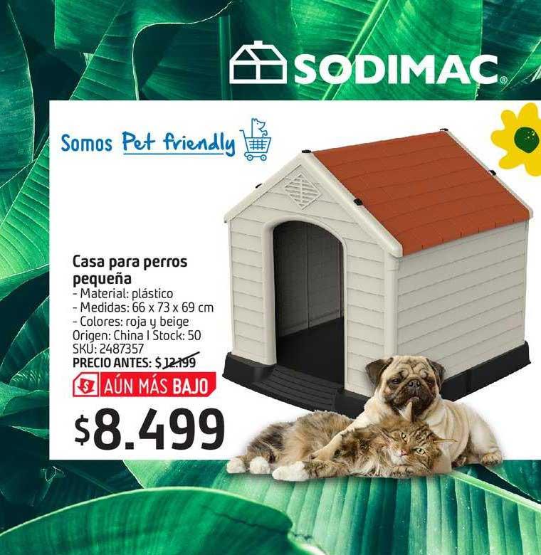 Sodimac Casa Para Perros Pequeña