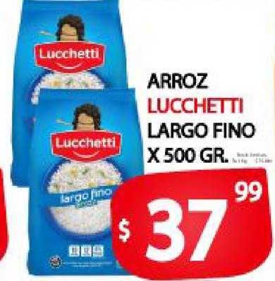 Supermercados Mariano Max Arroz Lucchetti Largo Fino