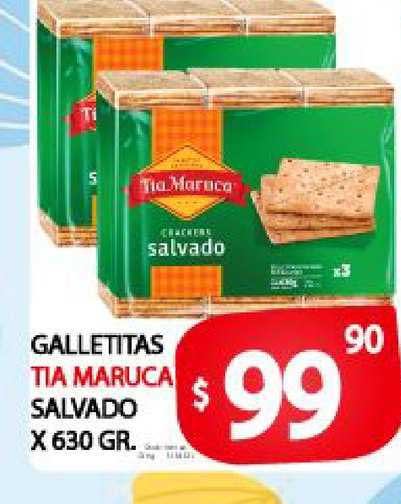 Supermercados Mariano Max Galletitas Tia Maruca Salvado