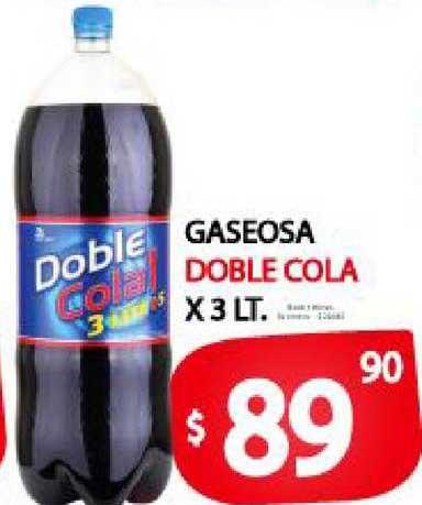 Supermercados Mariano Max Gaseosa Doble Cola