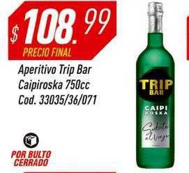Supermercados Comodin Aperitivo Trip Bar Caipiroska