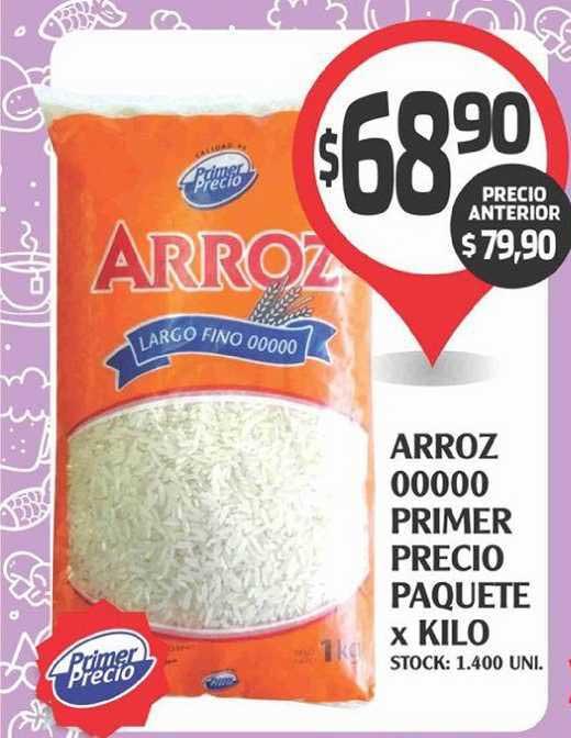 Supermercados Malambo Arroz 00000 Primer Precio Paquete X Kilo