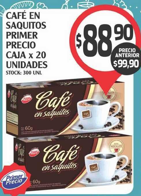 Supermercados Malambo Café En Saquitos Primer Precio Caja X 20 Unidades