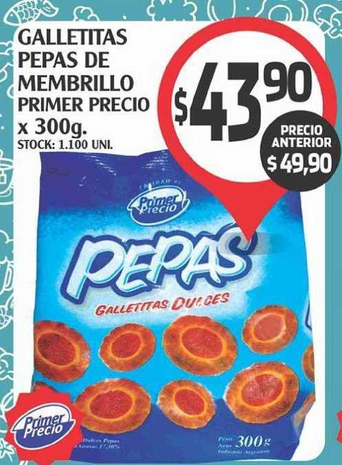 Supermercados Malambo Galletitas Pepas De Membrillo Primer Precio X 300g