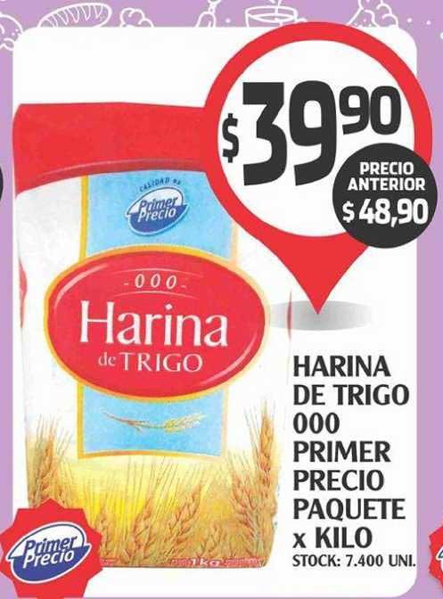 Supermercados Malambo Harina De Trigo 000 Primer Precio Paquete X Kilo