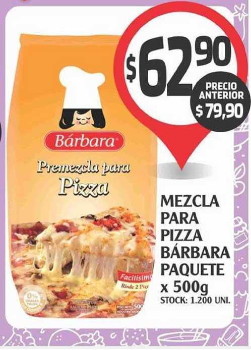 Supermercados Malambo Mezcla Para Pizza Barbara Paquete X 500g