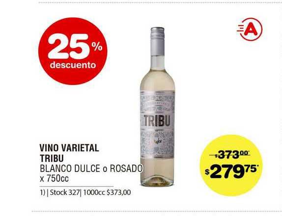 ATOMO Conviene Vino Varietal Tribu Blanco Dulce O Rosado