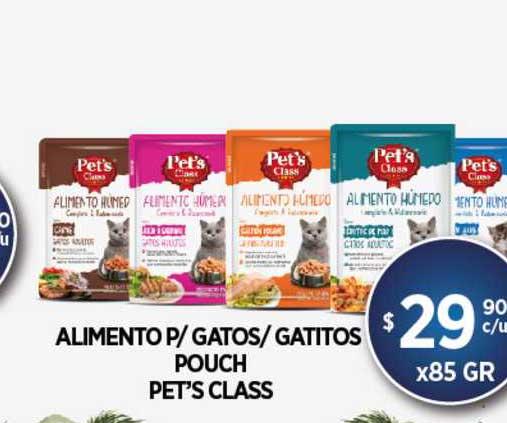 Supermercados Toledo Alimento P-Gatos - Gatitos Pouch Pet's Class