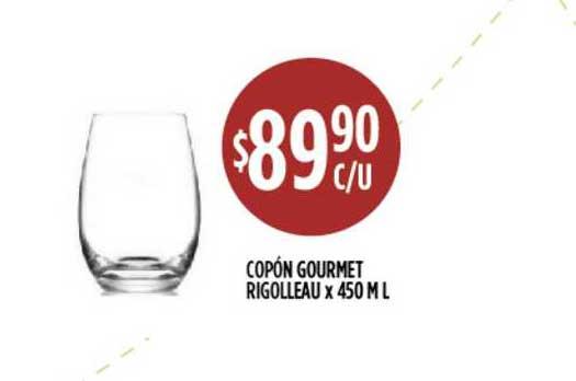 Supermercados Toledo Copón Gourmet Rigolleau X 450 ML
