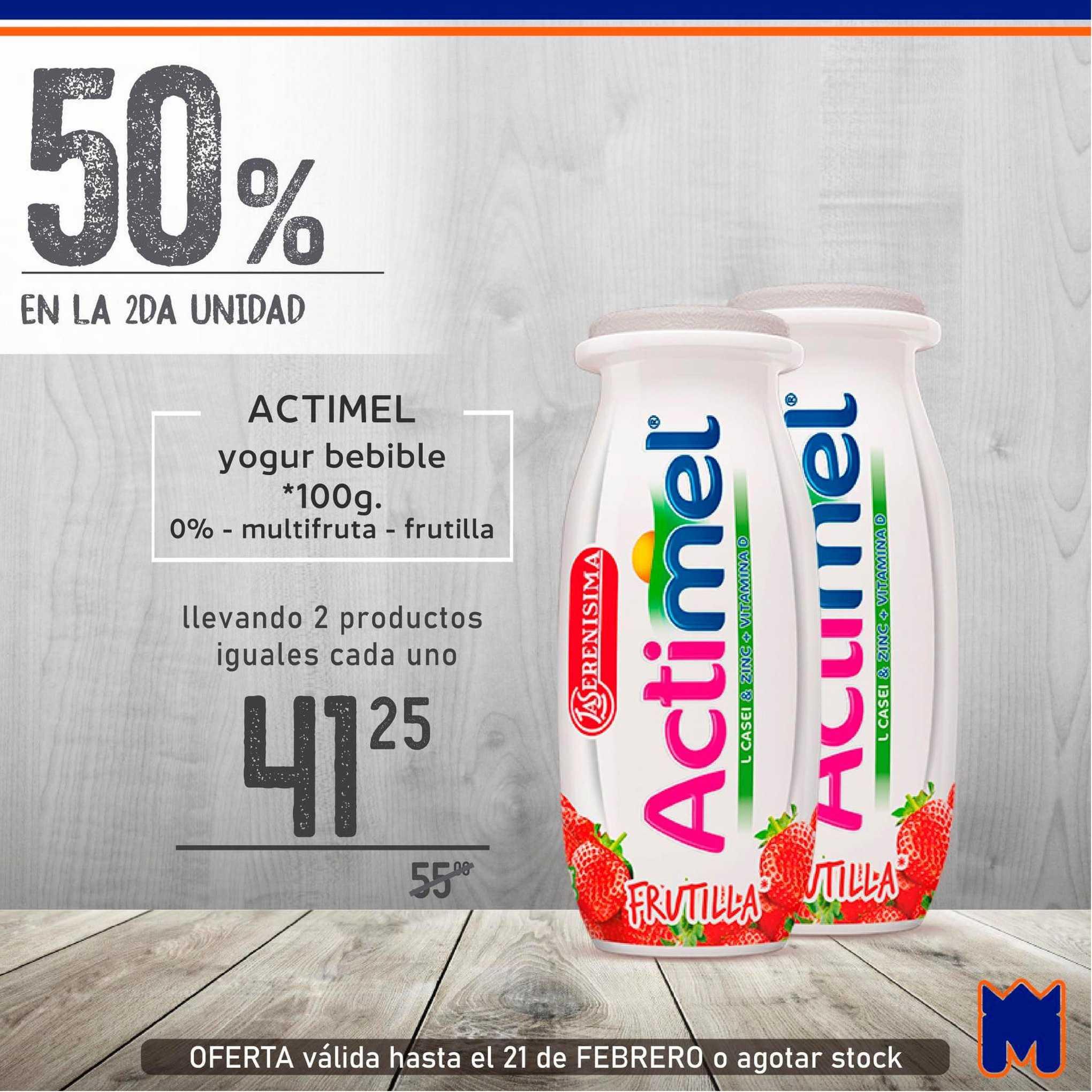 Supermercados Monarca Actimel Yogur Bebible
